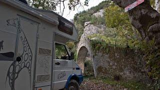 Grecja - Greece - Meteory i Kamienne Mosty II part