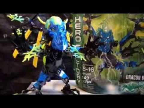 Lego Hero Factory Brain Attack Dragon Bolt (44009) - YouTube