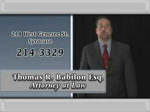 Thomas Babilon NY Attorney