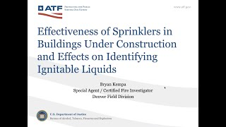 S#20 DCARI Fires in Commercial Buildings Under Construction ATF SA/CFI Bryan Kempa