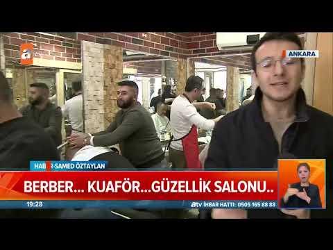 Berber ve güzellik salonları kapatıldı! - Atv Haber 21 Mart 2020