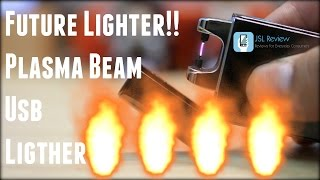 Future Lighter: Plasma Beam USB Rechargeable Lighter!!