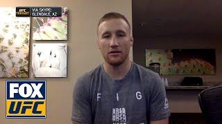 Justin Gaethje talks to UFC Tonight | INTERVIEW | UFC TONIGHT
