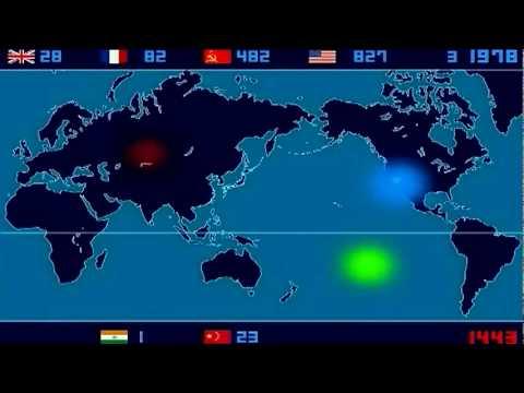 "Nuclear Detonation Timeline ""1945-1998"""