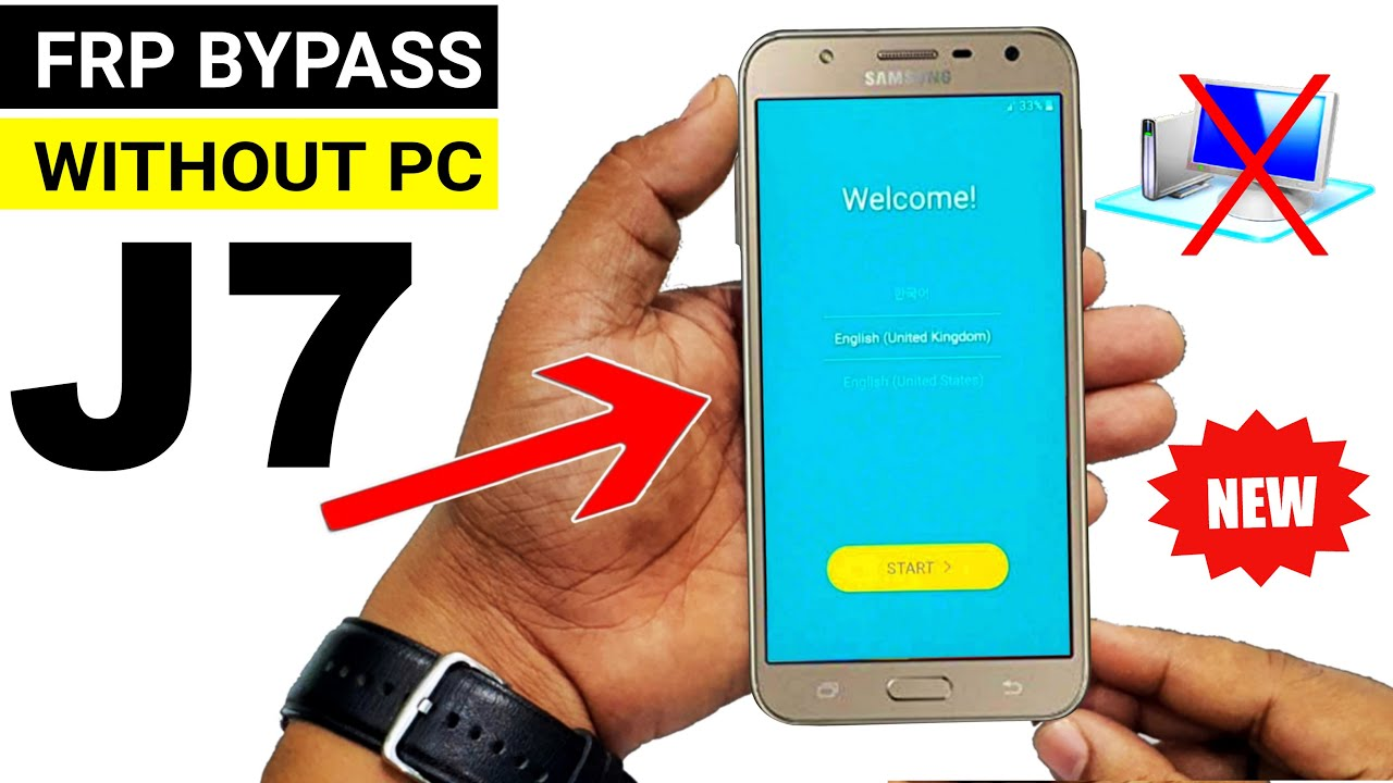 Samsung Galaxy J7 (SM J700) FRP Unlock or Google Account Bypass    Without  PC - YouTube