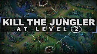 Tired of Dead Laners? Kill the Jungler Before the Gank!