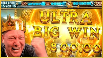 ULTRA BIG WIN - The Sword & the Grail!