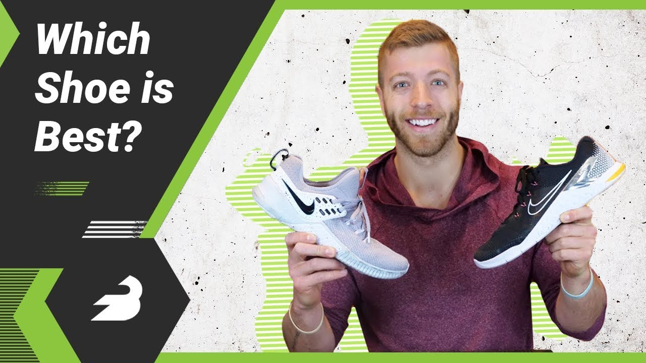 Congelar bosquejo evitar  Nike Metcon 4 Vs. Nike Free x Metcon — What's the Difference? - YouTube