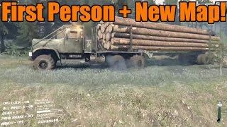 Spin Tires | New Update! First Person View and Siberia Mod Map