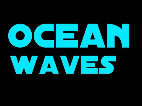 ✪ OCEAN WAVES ✪ 8 Hours BLACK SCREEN = OCEAN WAVES SOUNDS TO GO TO SLEEP OCEAN VIDEO of BLUE SEA