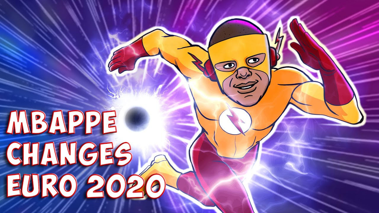 💫 Mbappe Changes Euro 2020 With His Speed Force ⚽ 442oons Parody