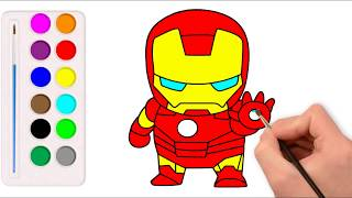 Drawing Iron Man - From Avengers