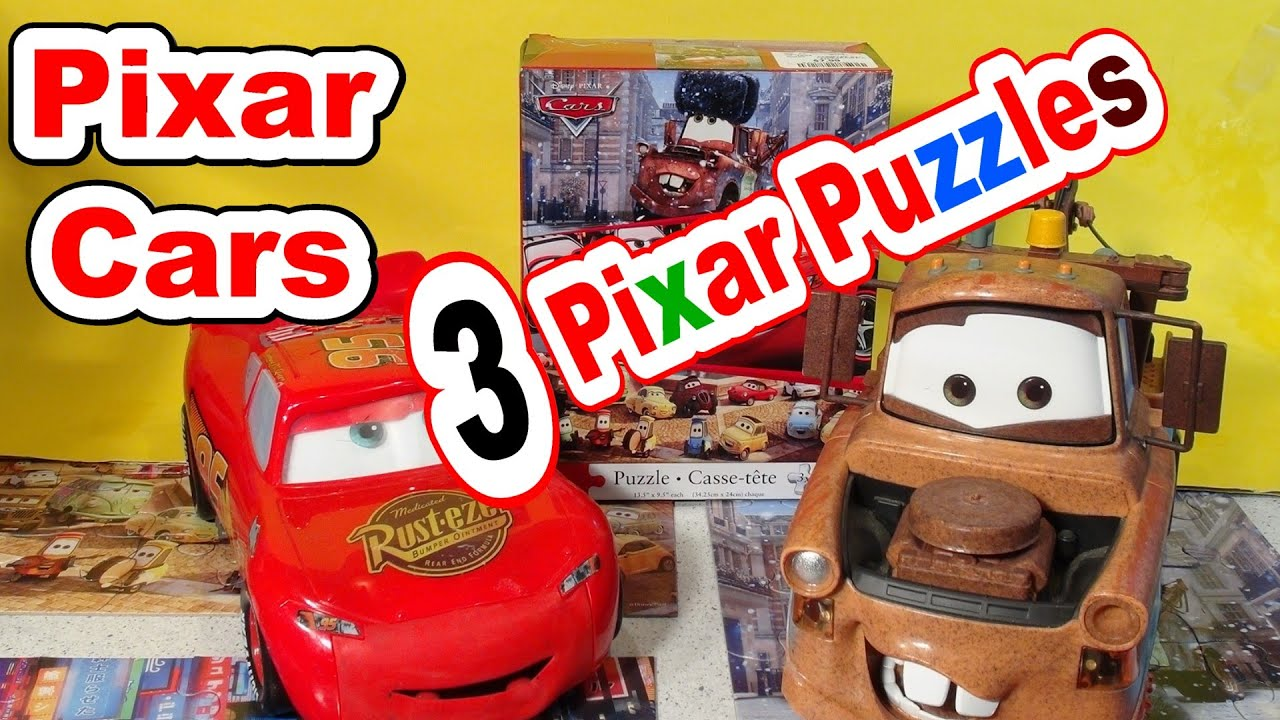 Pixar Cars 3 Surprise Puzzles From Disney Cars Cars2 And