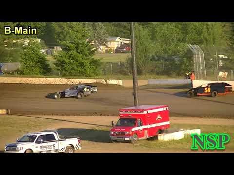 June 16, 2018 Washington Modified Tour B-Main Grays Harbor Raceway