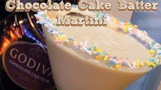 Cake Batter Martini - Thefndc.com