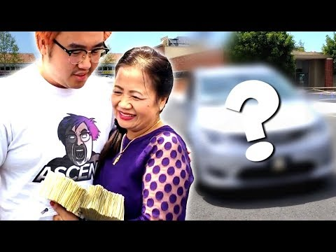 BUYING MOM HER DREAM CAR WITH 1 DOLLAR BILLS