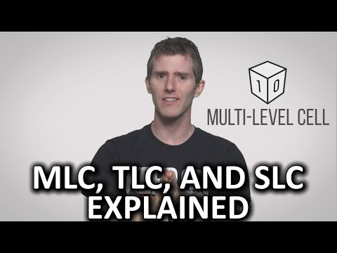 SSD Flash Memory - MLC, TLC, and SLC