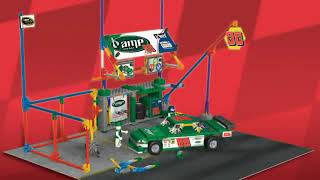 K'nex Nascar No. 88 Amp Energy Garage Building Set