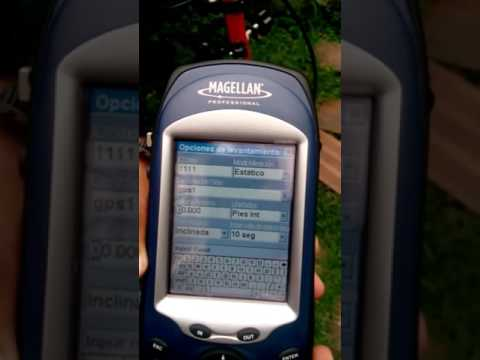 Video Capacitacion GPS Promark 3 Parte 01