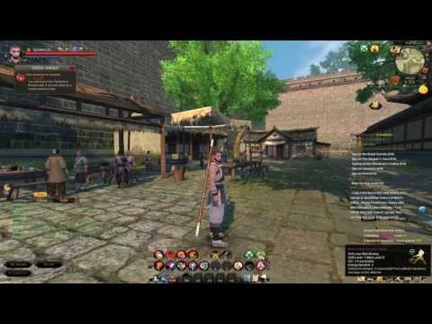 How Do You Wushu? - Age Of Wushu Guide Part 1 - The Basic Interface