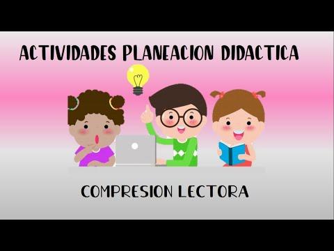 actividades-de-planeación-nivel-literal-de-la-comprensión-lectora