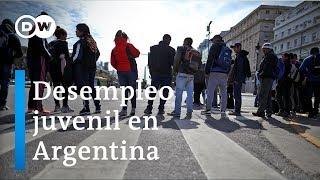 Desempleo juvenil en Argentina