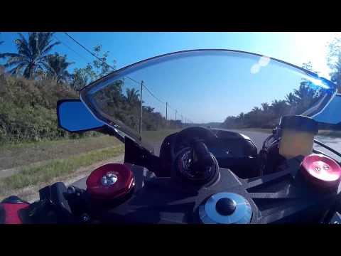 Malaysia Ghost Rider SHORT Video Ride to Grape Farm (Feb 2016)