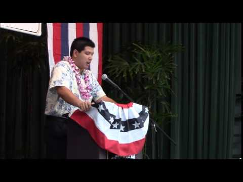 Christopher Lum Lee Hawaii County Democratic Convention