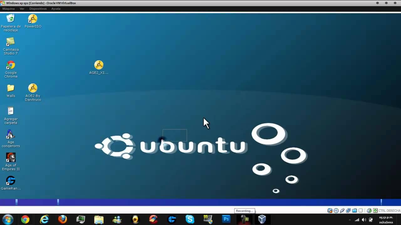 pantalla completa virtualbox