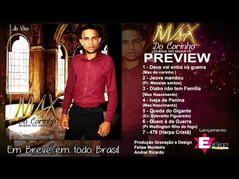 Cantor Max do Corinho PREVIEW CD Queda do Gigante