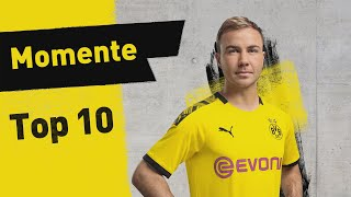 Top 10 Moments | Mario Götze