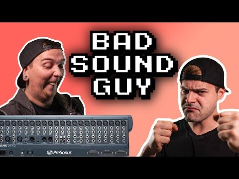 The Worst Sound Guys Of All Time!