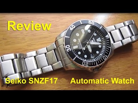 Seiko SNZF17 Sea Urchin Automatic Watch – Review