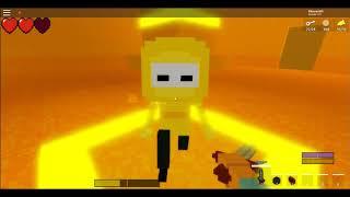 Roblox: Cube Cavern Reborn: Return to the Cave! 1: Yellow Cavern Boss