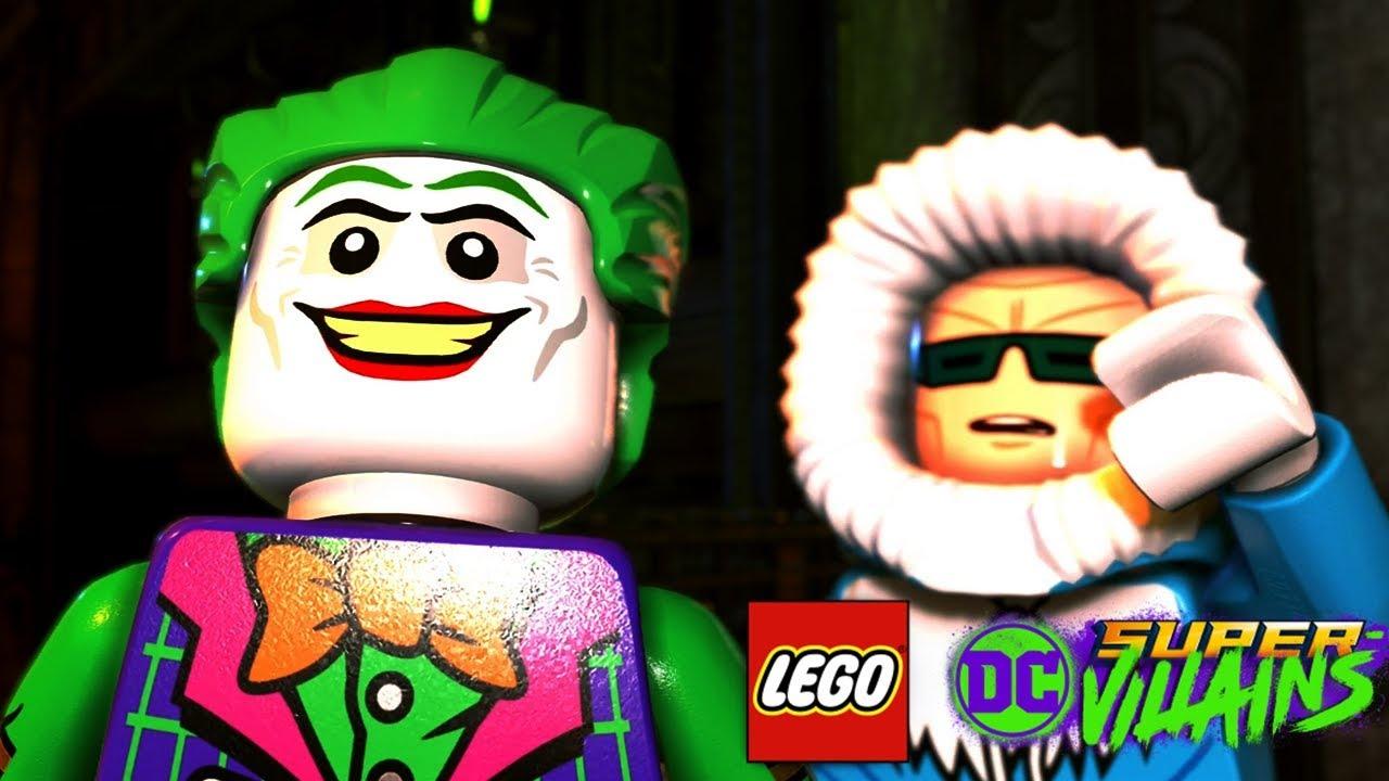 LEGO DC SUPER VILLAINS All Joker Scenes