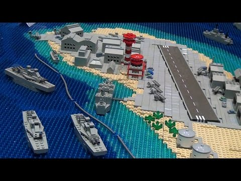 LEGO WWII Battle of Pearl Harbor – Brickworld Fort Wayne 2015