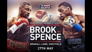 BWTM SPORTS | BROOK VS SPENCE LIVE AUDIO COMMENTARY