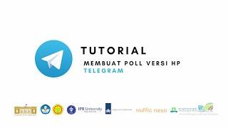 Telegram - Tutorial Membuat Poll Versi HP
