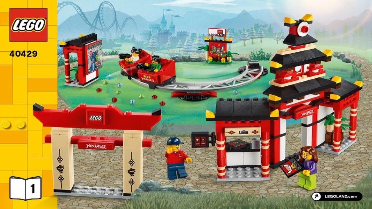 LEGO Instructions - Promotional - 40429 - Ninjago World