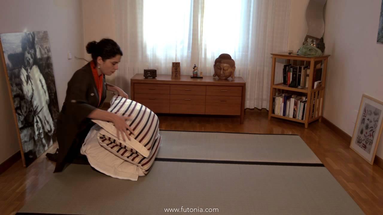Ahorrar espacio en casa con el zen bag futonia youtube - Espacio zen ...