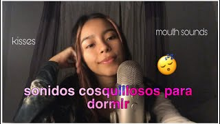 ASMR Español | M0uth sounds & kisses para dormir 🥰 👁👄👁