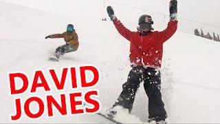 Powder Destinations - POWDER SNOWBOARDING WITH DAVID JONES