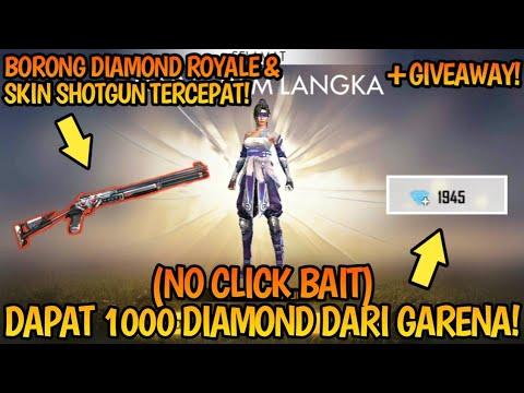 "(NO CLICK BAIT) DAPET 1000 DIAMOND DARI GARENA! & BAGI"" REZEKI RAMADHAN!!! | Free Fire Battleground"