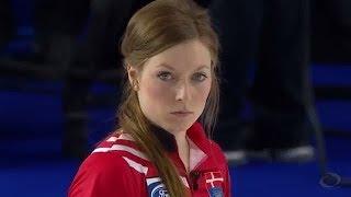 2016世界女子カーリング選手権 -予選リーグ第4戦- デンマーク vs 日本