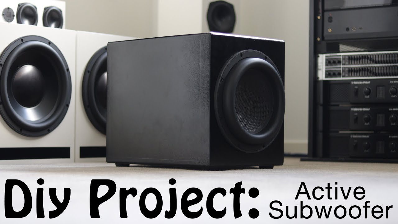 Diy Build Active Dayton Ultimax Subwoofer
