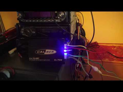 CALIBER CA75 BLUETOOTH AMPLIFIER FOR LEISURE VEHICLES