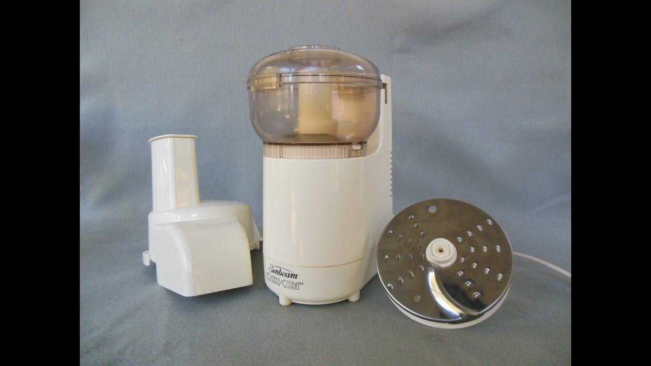 Sunbeam Oskar Mini Food Processor For Sale On Ebay