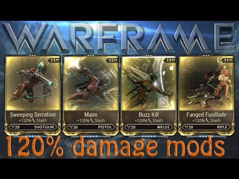 Warframe - 120% Damage Mods (Worth It?)
