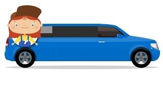 Çocuklar için doktor McWheelie - Bir Karikatür. Arabayı Doktor ve bir Limuzin