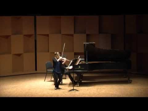 Lutoslawski's Partita for Violin and Piano